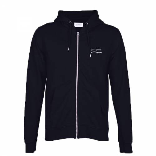 Oh Dawn Nautical Zip - Black