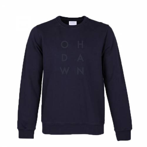 Oh Dawn Letter Crew - Black