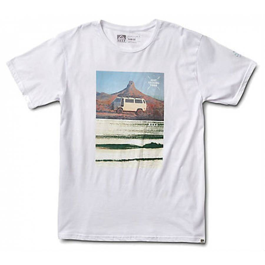 Reef Road Trip Tee - White