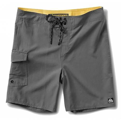 Reef Lucas 3 Shortie Boardshorts - Grey