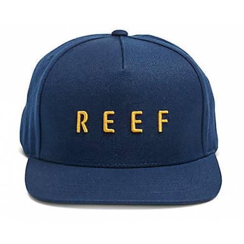 Reef Motion Logo Snapback - Indigo