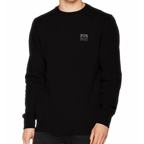 Reef Classic Crew Sta Sweatshirt - Black
