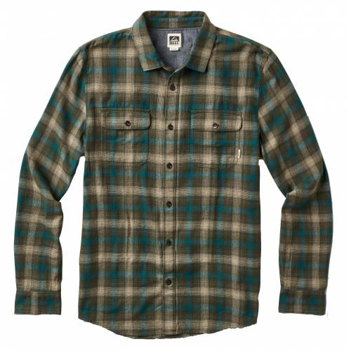 Reef Men's Cold Dip Shirt - Olive