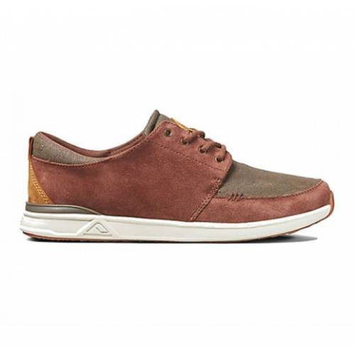 Reef Rover Low Shoes - Brown / Olive