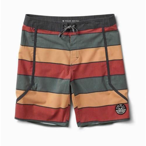 Roark Wander Yahmon Shorts - Army Green