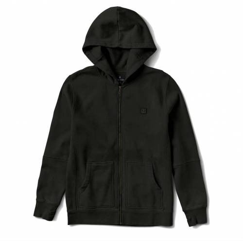 Roark Well Worn Zip Jacket - Black