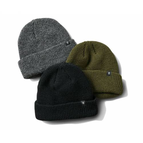 Roark Turk's Beanie 3 Pack -  Grey / Black / Army