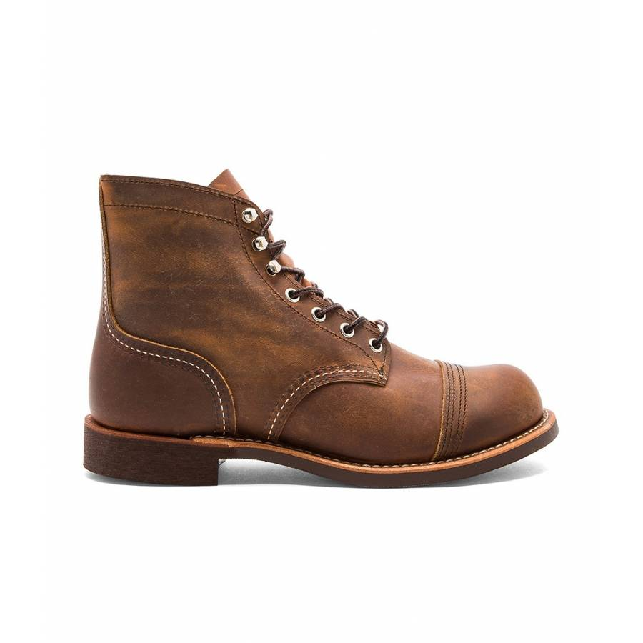 Red Wing Shoes 8085 Iron Ranger Copper Rough &...