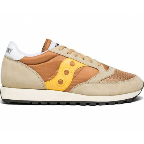 Saucony Jazz Original Vintage - Tan / Yellow