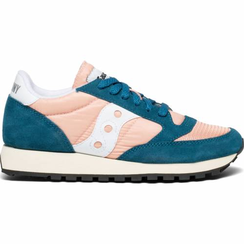 Saucony Jazz Original Vintage - Teal/Peach