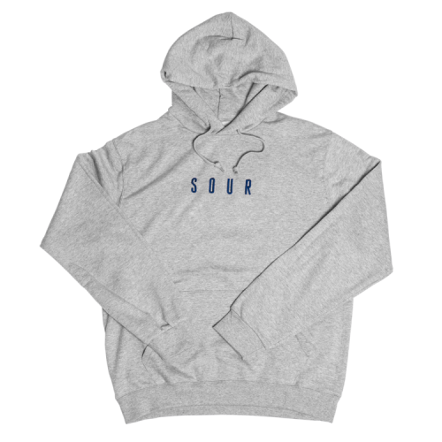 SOUR Army Hood Sweatshirt  - Grey