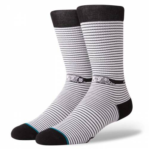 Stance Eye Spy Socks - White