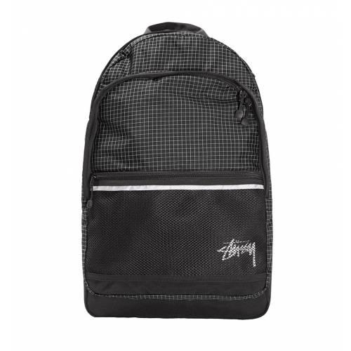 Stussy Ripstop Nylon Backpack - Black