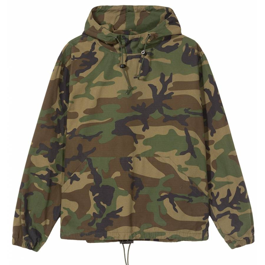 Stussy Ripstop Pullover - Camo