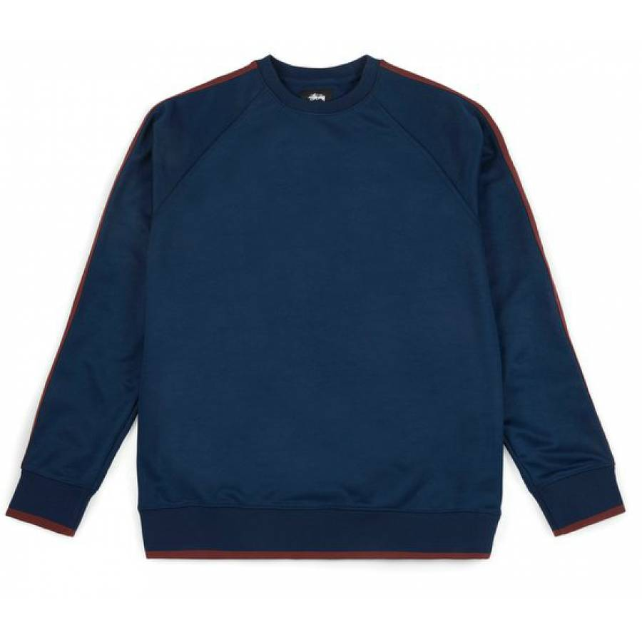 Stussy Poly Track Sweat - Navy