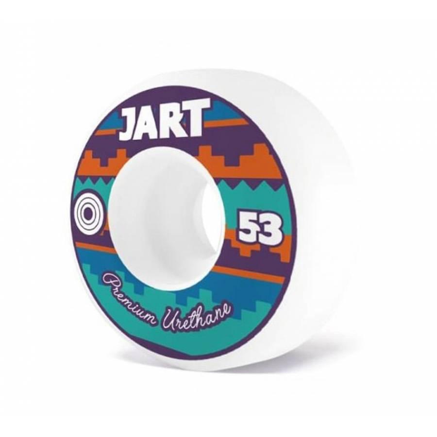 Jart Skateboards Wheels Tipi White - 53mm - 100A -...