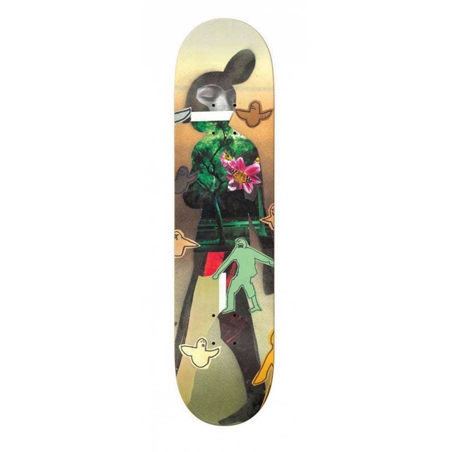 Krooked BRD Sebo Collage Deck - 8.12""