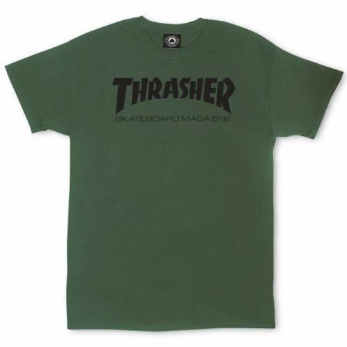 Thrasher Skate Mag T-Shirt - Army