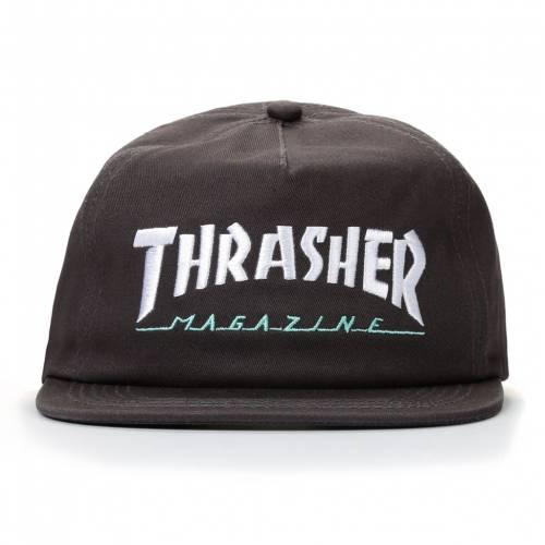 Thrasher Magazine Logo Two Tone Hat - Gray