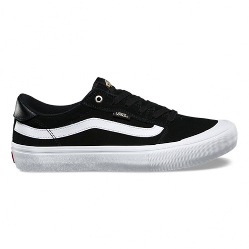 Vans Style 112 Pro Shoes - Black/Black/White