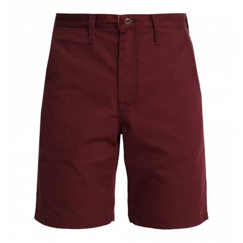 Vans Men Authentic Stretch Shorts - Burgundy