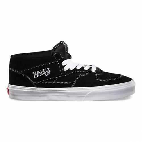 Vans Half Cab Pro Shoes - Black / White