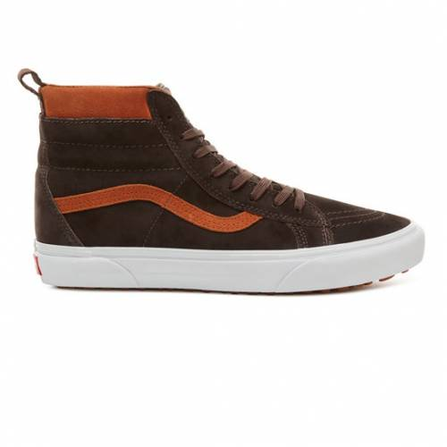 Vans Sk8-hi MTE Shoes - Suede / Chocolate Torte