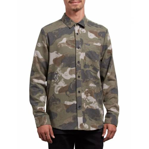 Volcom Dragstone Shirt - Camouflage