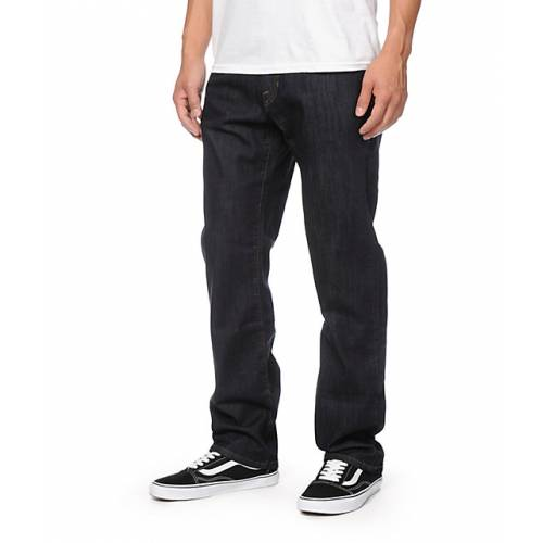 Volcom Kinkade Regular Fit Jeans - Rinse