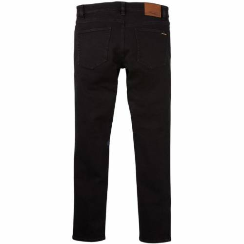 Volcom Vorta Tapered Jeans - Black on Black