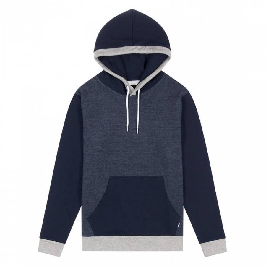 Wemoto Patch Sweatshirt - Navy Blue