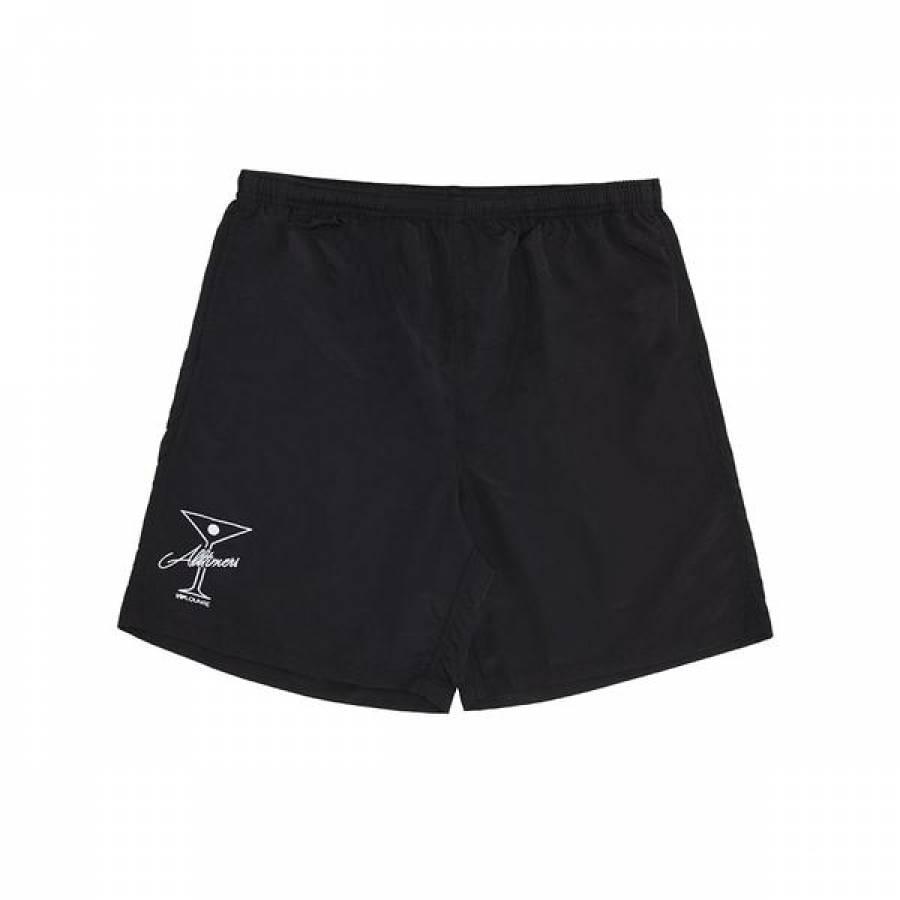 Alltimers League Player Nylon Shorts - Black