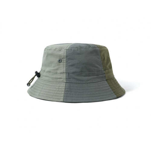 Butter Goods Patchwork Bucket Hat - Army