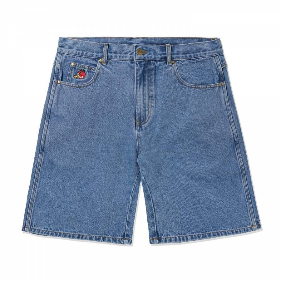 Butter Goods Apple Denim Shorts - Washed Indigo