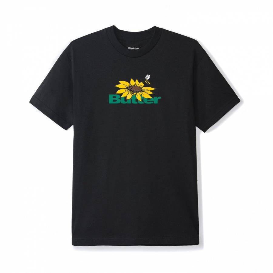 Butter Goods Sunflower Logo Tee - Black