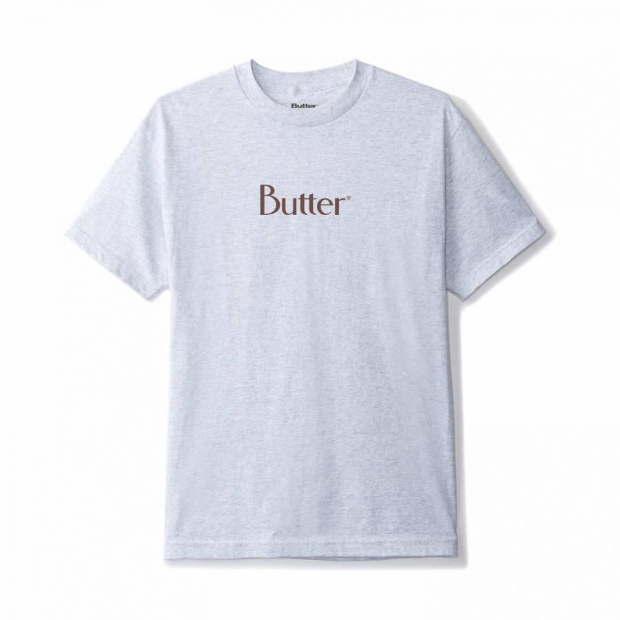 Butter Goods Classic Logo Tee - Ash Grey