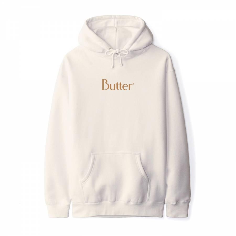 Butter Goods Classic Logo Pullover - Bone