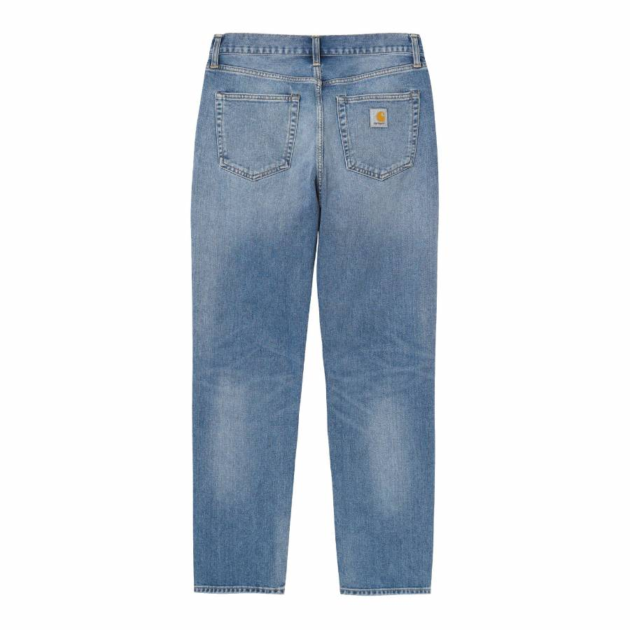 Carhartt Newel Pant - Blue (Worn Bleached)