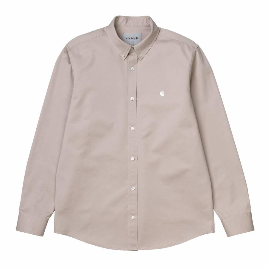 Carhartt L/S Madison Shirt - Glaze / Wax