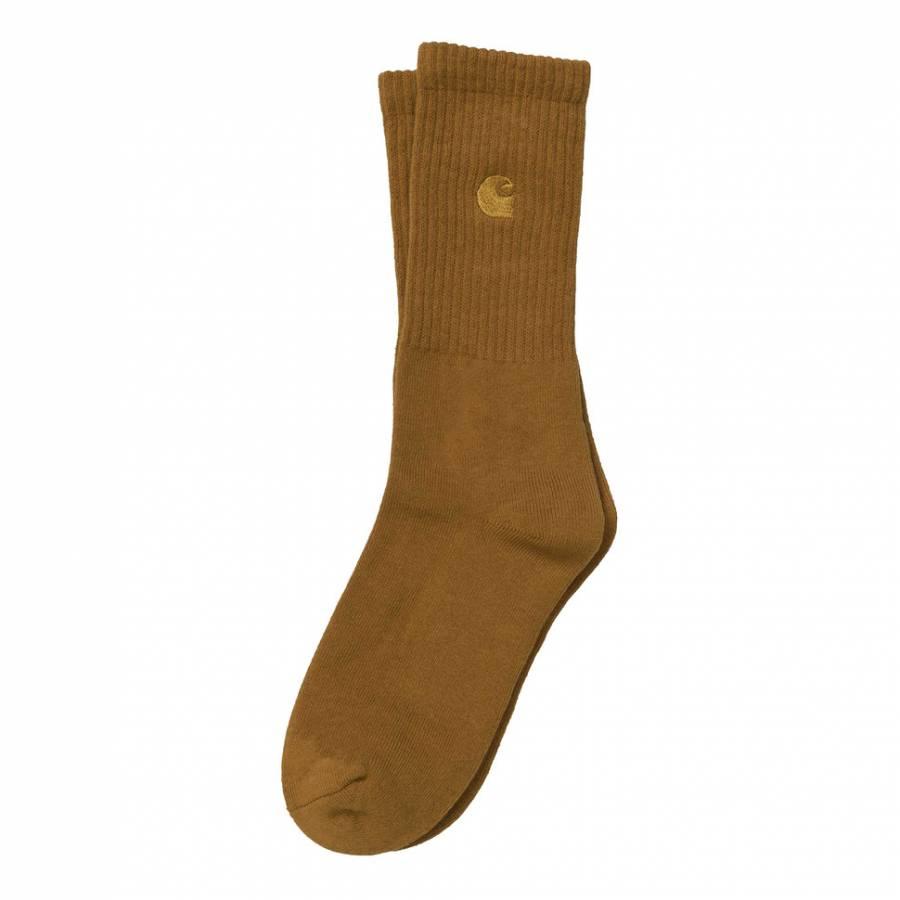 Carhartt Chase Socks - Brown / Gold