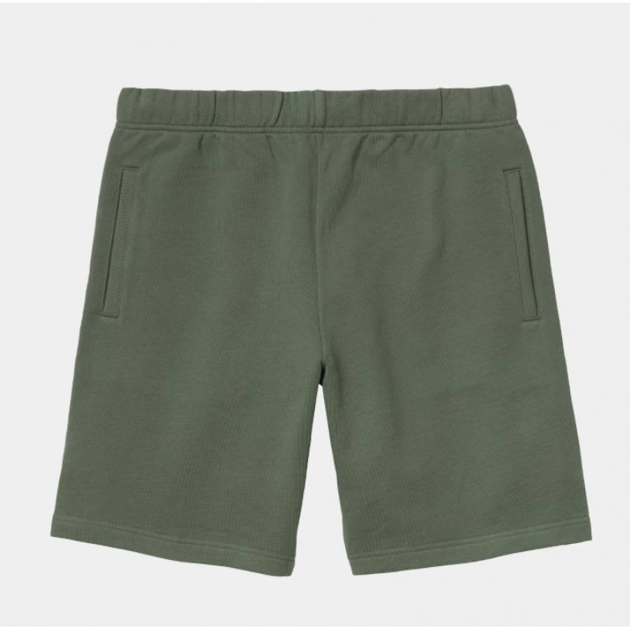 Carhartt Pocket Sweat Short - Dollar Green