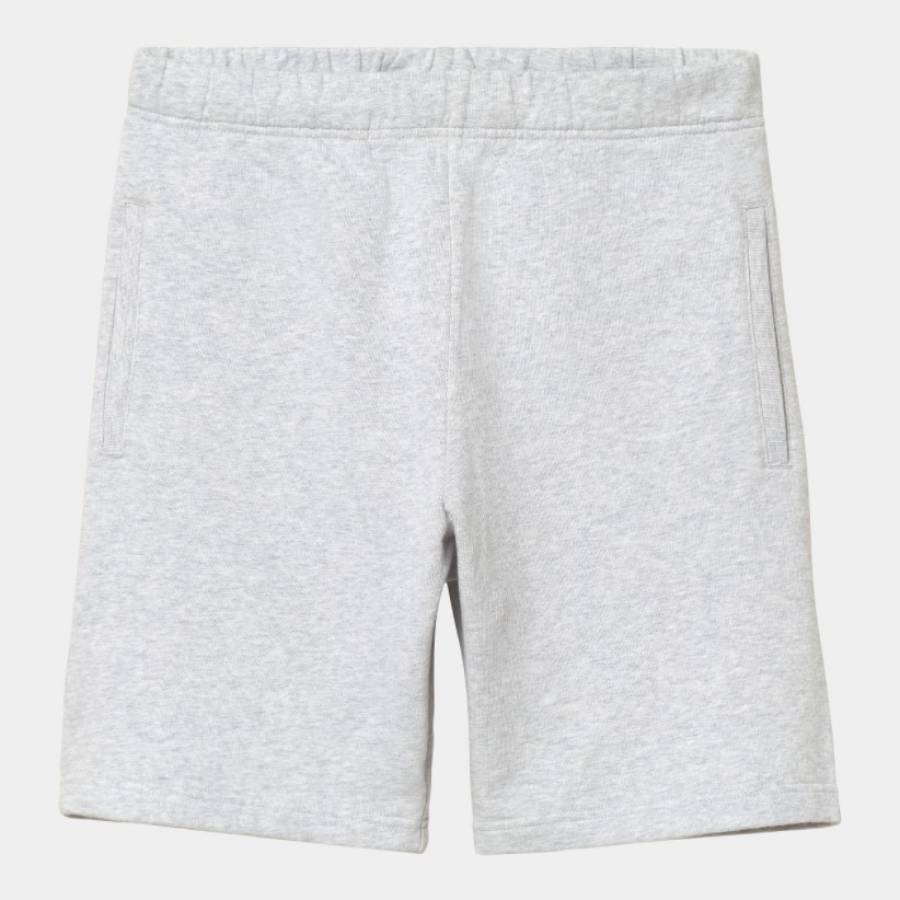 Carhartt Pocket Sweat Short - Ash Heather