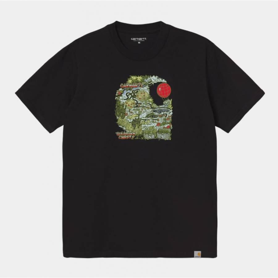 Carhartt S/S Treasure C T-Shirt - Black