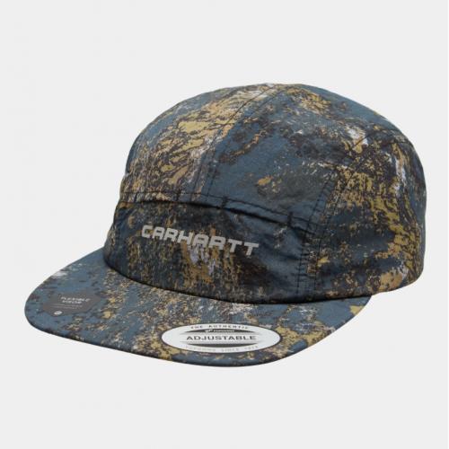 Carhartt Terra Cap - Setellite Print / Deep Lagoon