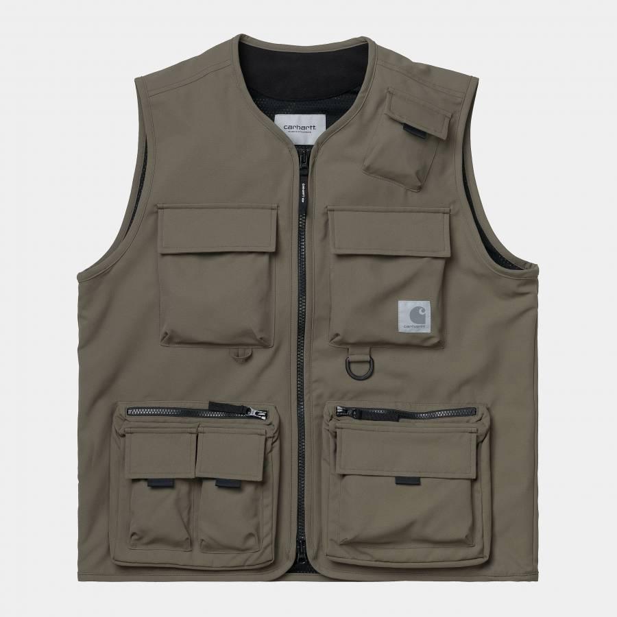 Carhartt S/S Denton T-Shirt - Denton Stripe / Spac...