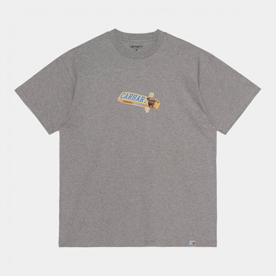 Carhartt S/S Chocolate Bar T-shirt - Grey Heather