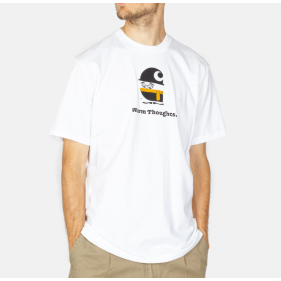 Carhartt S/S Warm Thoughts T-shirts - White