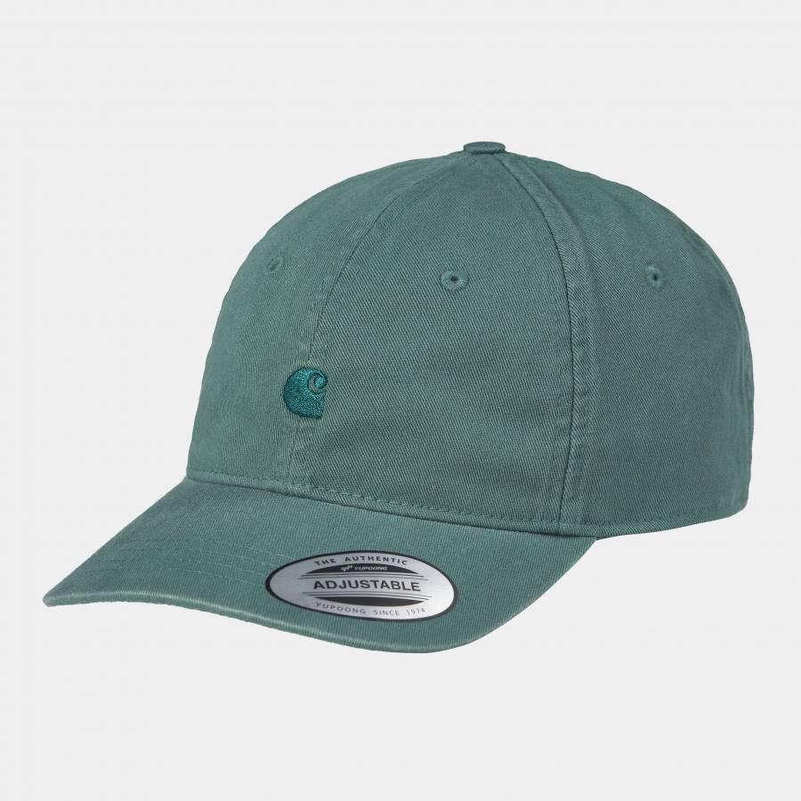 Carhartt Madison Logo Cap - Eucalyptus / Fraiser