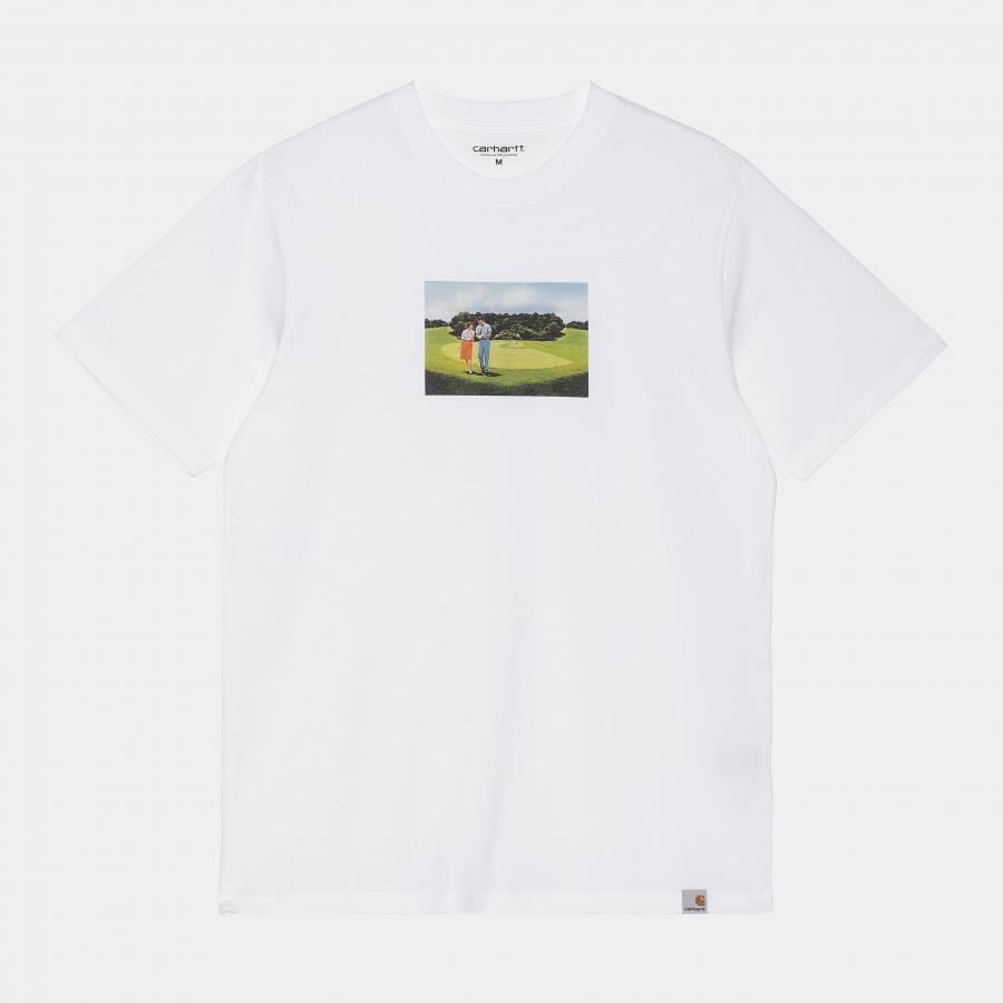 Carhartt S/S Hole 19 T-Shirt - White