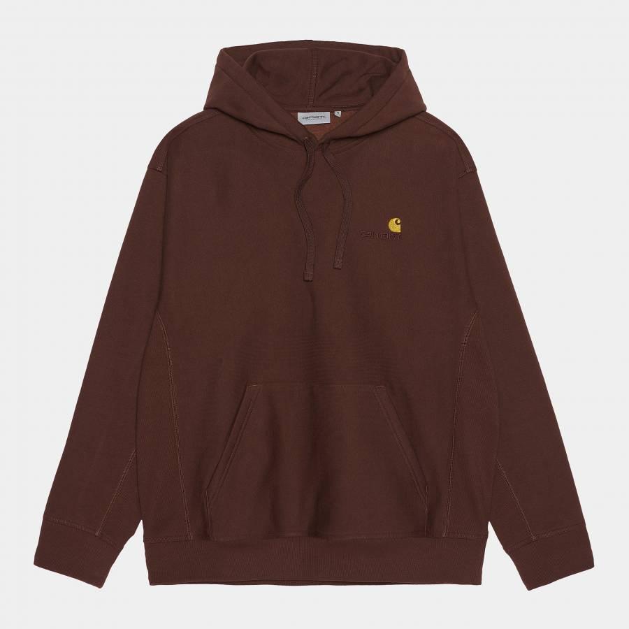Carhartt Hooded American Script Sweatshirt - Offro...